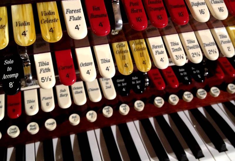 The Lerner Theatre | Kimball Organ