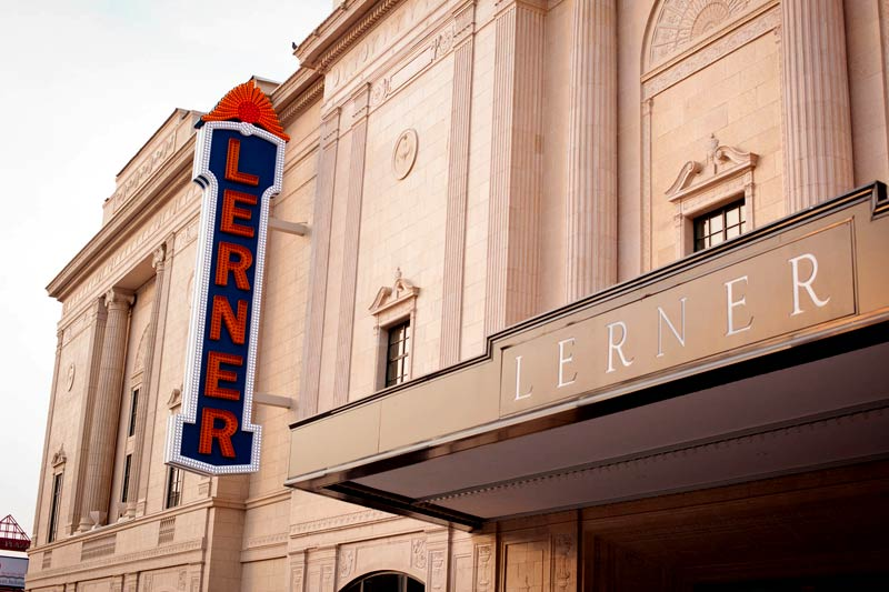 About The Theatre | The Lerner Theatre, Elkhart, Indiana